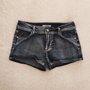 Jupital stonewash blue jean shorts junior 7